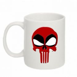 Кружка 320ml Deadpool Skull - FatLine