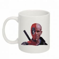 Кружка 320ml Deadpool Two face