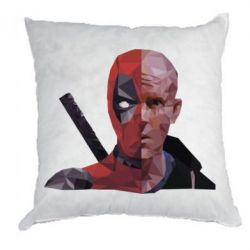 Подушка Deadpool Two face
