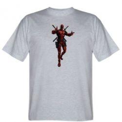 Мужская футболка Deadpool - FatLine