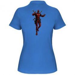 Женская футболка поло Deadpool - FatLine