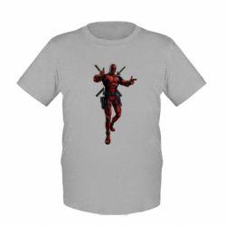 Детская футболка Deadpool - FatLine