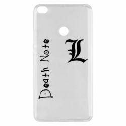 Чехол для Xiaomi Mi Max 2 Death Note and EL