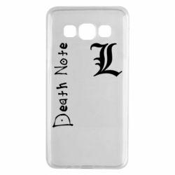 Чехол для Samsung A3 2015 Death Note and EL