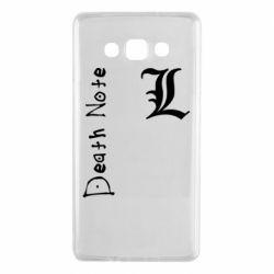 Чехол для Samsung A7 2015 Death Note and EL