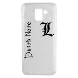 Чехол для Samsung J6 Death Note and EL