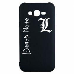 Чехол для Samsung J7 2015 Death Note and EL