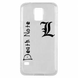 Чехол для Samsung S5 Death Note and EL