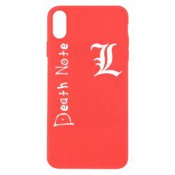 Чехол для iPhone Xs Max Death Note and EL
