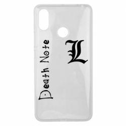 Чехол для Xiaomi Mi Max 3 Death Note and EL