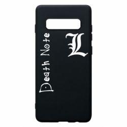 Чехол для Samsung S10+ Death Note and EL
