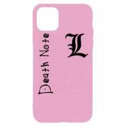 Чехол для iPhone 11 Pro Death Note and EL