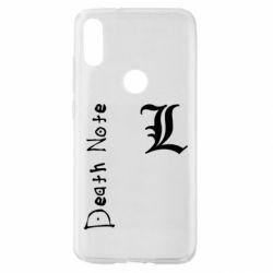 Чехол для Xiaomi Mi Play Death Note and EL