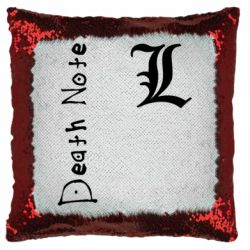 Подушка-хамелеон Death Note and EL