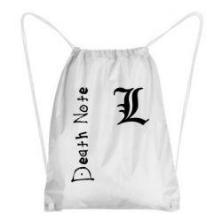 Рюкзак-мешок Death Note and EL