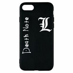 Чехол для iPhone 7 Death Note and EL