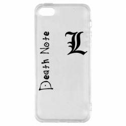 Чехол для iPhone5/5S/SE Death Note and EL