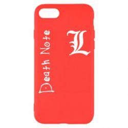 Чехол для iPhone 8 Death Note and EL