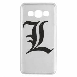 Чохол для Samsung A3 2015 Death Note minimal logo