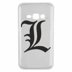 Чохол для Samsung J1 2016 Death Note minimal logo