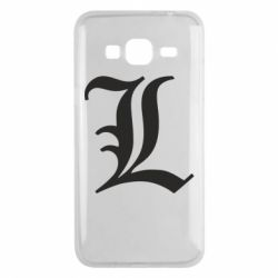 Чехол для Samsung J3 2016 Death Note minimal logo