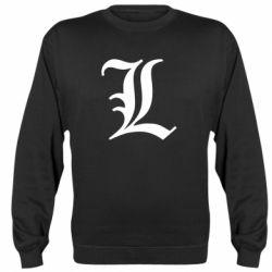 Реглан (свитшот) Death Note minimal logo