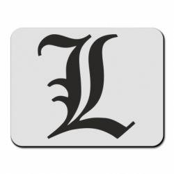Килимок для миші Death Note minimal logo
