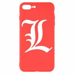 Чохол для iPhone 7 Plus Death Note minimal logo