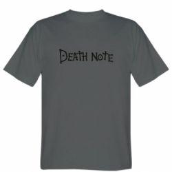 Чоловіча футболка Death note name