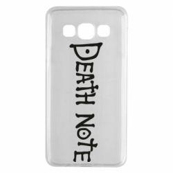 Чохол для Samsung A3 2015 Death note name