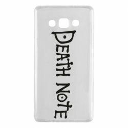 Чохол для Samsung A7 2015 Death note name