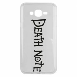 Чохол для Samsung J7 2015 Death note name