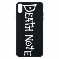 Чохол для iPhone Xs Max Death note name