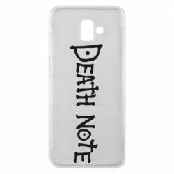 Чохол для Samsung J6 Plus 2018 Death note name