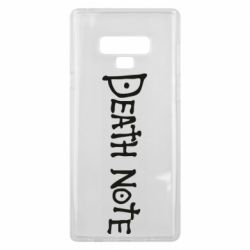Чохол для Samsung Note 9 Death note name