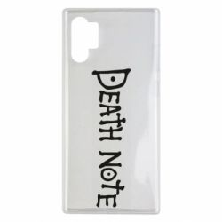 Чохол для Samsung Note 10 Plus Death note name