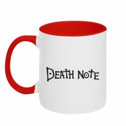 Кружка двоколірна 320ml Death note name