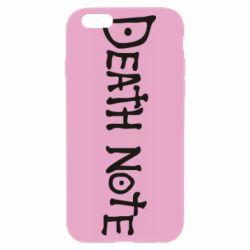 Чохол для iPhone 6 Plus/6S Plus Death note name