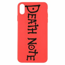 Чохол для iPhone X/Xs Death note name