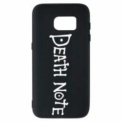 Чохол для Samsung S7 Death note name