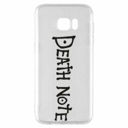 Чохол для Samsung S7 EDGE Death note name