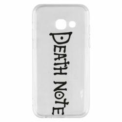 Чохол для Samsung A3 2017 Death note name