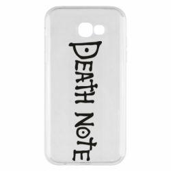 Чохол для Samsung A7 2017 Death note name