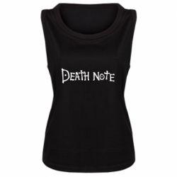 Майка жіноча Death note name