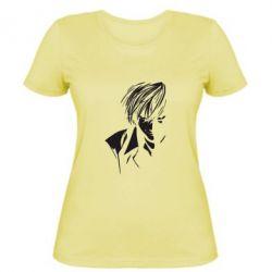 Женская футболка Парень - FatLine