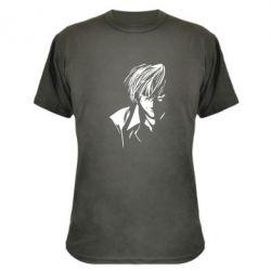 Камуфляжная футболка Death Note Тетрадь Смерти - FatLine