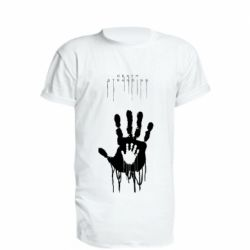 Подовжена футболка Death Stranding