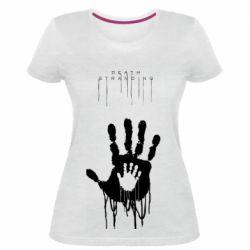 Жіноча стрейчева футболка Death Stranding