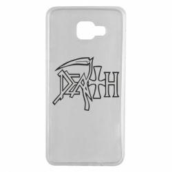 Чехол для Samsung A7 2016 death - FatLine