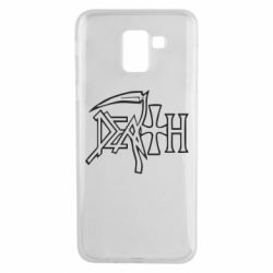 Чехол для Samsung J6 death - FatLine